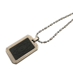 High Quality 4 in 1 Scalar Energy Stainless Steel Lava Rock Pendants