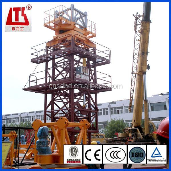 8t Building luffing jib 50m tower crane
