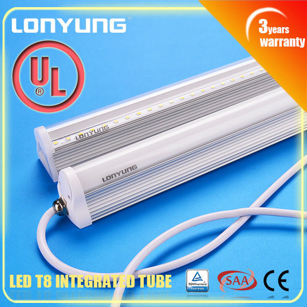 High Brightness T8 Led Light integrated tube 900mm 13w solar power system