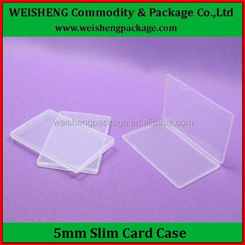watch a2a62 3166e High Quality Custom Size Hard Pp Clear Plastic Card Case Plastic Business  Credit Card Holder Case - Buy Credit Card Holder Case,Business Credit Card  ...