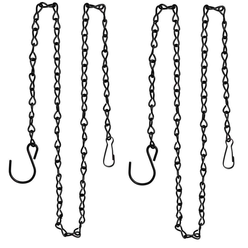 Get Quotations Hsan 2 Pack 35 Inch Hanging Chain Black Chains Metal For Baskets