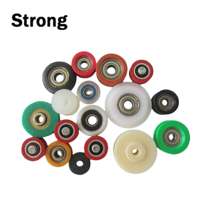 Nylon PP POM PVC Miniature Pulley Wheels with Bearings