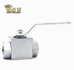 chemicals oil and gas valve ball valve hydraulic pressure component khm high pressure ball valve