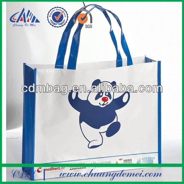 eco friendly popular and promotional and picture printing customized lovely non woven bags for packing and shopping
