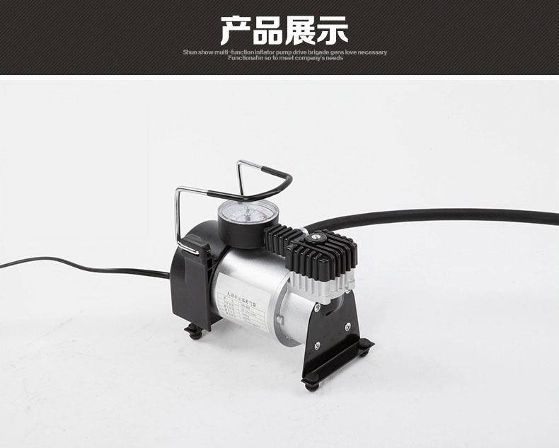 12V micropompa pneumatici mini veicolo portatile pompa di aria elettrica