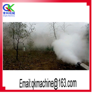 Pollination vaccination with smoke machine fog Mist