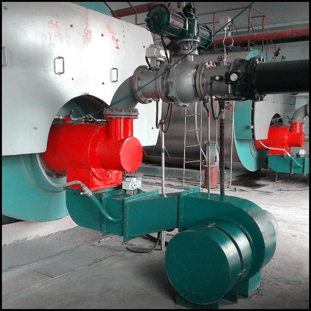 The Gas furnace burner for industrial combustion
