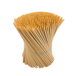 Smooth plate eco-friendly bamboo skewers vietnam