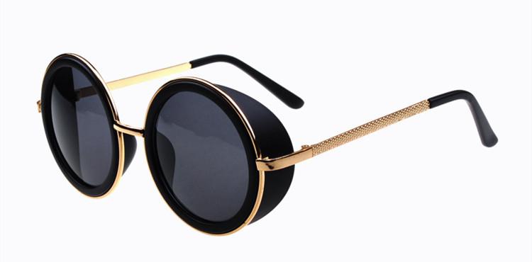 lunettes rondes hommes soleil mode vintage femmes hommes r. Black Bedroom Furniture Sets. Home Design Ideas