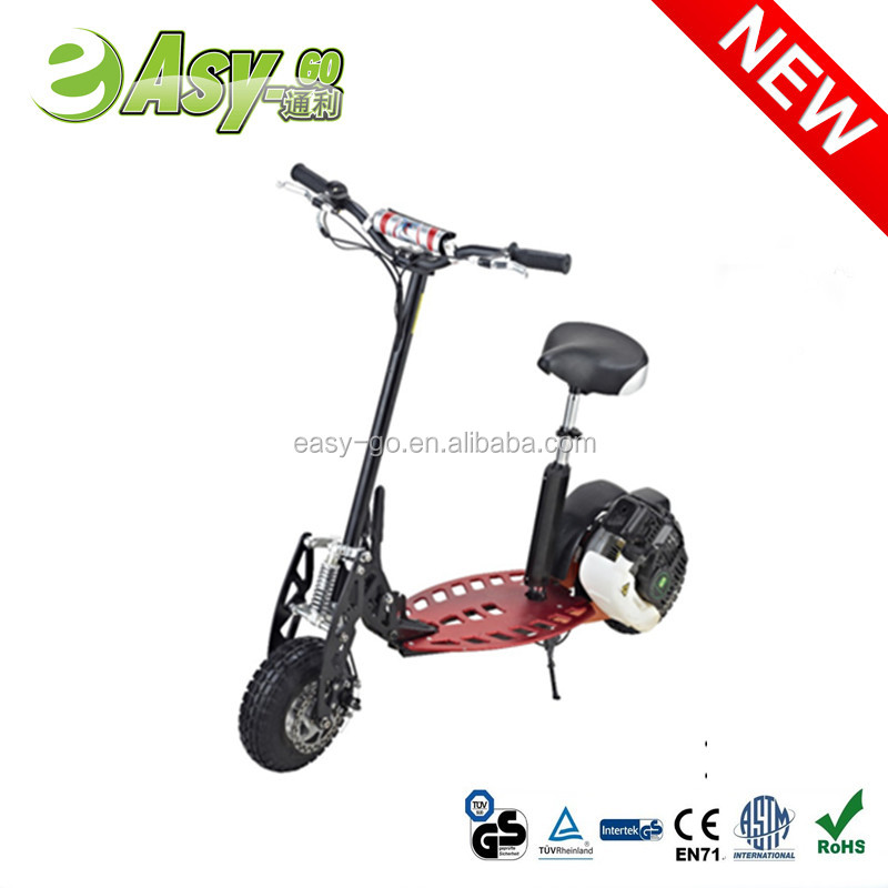 2017 Easy-go newest cheap foldable gas scooter 50cc with CE certificate hot on sale