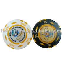 Hoge Kwaliteit Keizerlijke Diamant Casino ABS 2C Ronde <span class=keywords><strong>Poker</strong></span> Chip