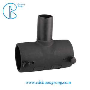 color as required reducing tee pe PIPE fitting in water or gas delivery