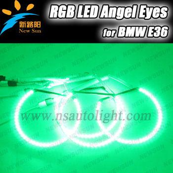 131mm Smd 5050 Rgb Led Angel Eyes For Bmw Rgb Led Angel Eye Ring ...