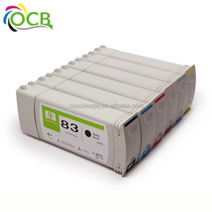 Ocbestjet for HP 83 5000 5500 5100 compatible ink cartridge with ink