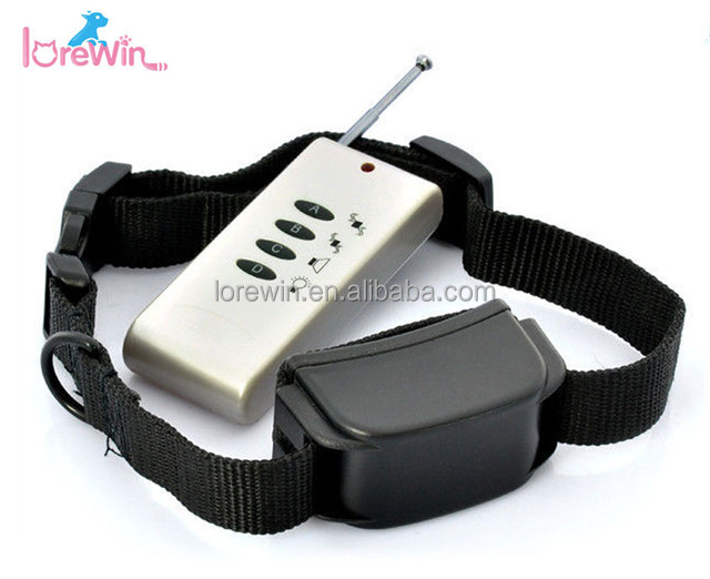 LoreWin LY-154 Waterproof rechargeable remote dog shock training no bark collar vibrate 2017 China Manufactor 800yard Remote