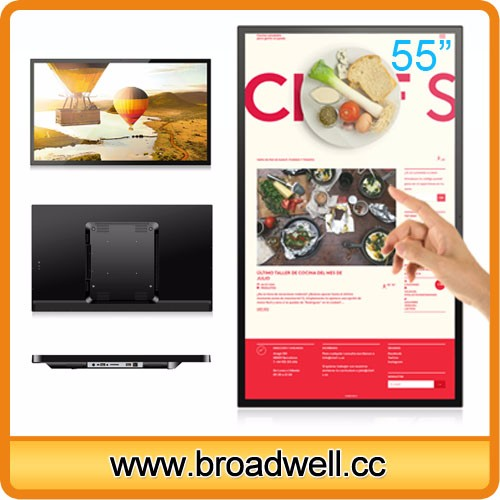 BW-MC5501_11 55 Inch RK3288 Quad Core A17 Android 5.1 Full HD 2GB Memory 16GB Storage Ten Point Capacitive Touch Screen Android TV