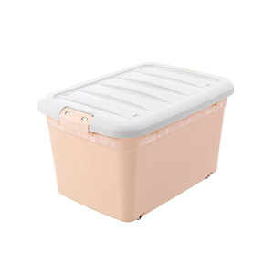 Large cube home use plastic clothes small stuffs storage container cllect storage box