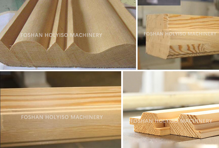 MBQ520A Hot sale four side wood working planer for 200mm width
