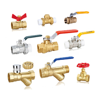 China Supplier High Quality iron / PVC stainless steel / brass ball Valve