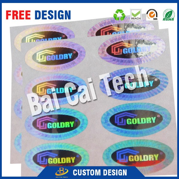 Best Price custom design tamper proofing sheet packing QR code sticker 3d hologram sticker adhesive security label