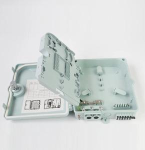 FTTH PLC Splitter Distribution Box Outdoor Fiber Termination Boxes 1x4 1x8 FTTX
