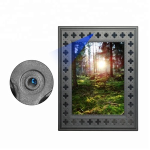 Long Time Recording Completely Invisible Wifi Photo Frame Hidden Spy Camera