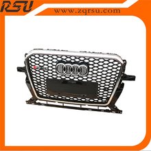 For audi Q5 RSQ5 front grille mesh design ABS material 2009-2013