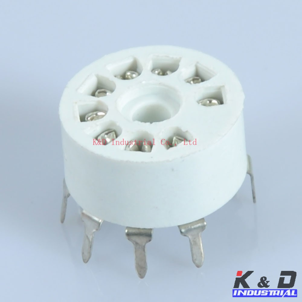 7Pin Ceramic Vacuum valve Socket for Tube 12AE6 3AV6 4AV6 6AV6 6BF6