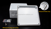 Junction Box 100x100x50 Kotak Kandang IP56 PVC Beradaptasi