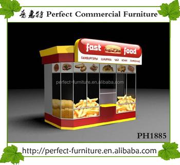 design fast food kiosk french fries stall potato crepe. Black Bedroom Furniture Sets. Home Design Ideas