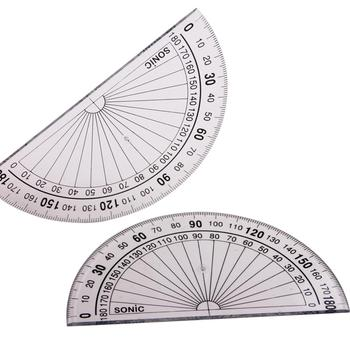 High quality OEM plastic transparent digital protractor