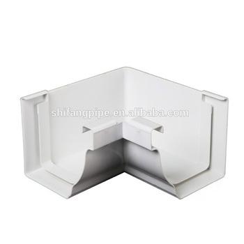 Plastic Drainage System White Brown Black Pvc Rain Water