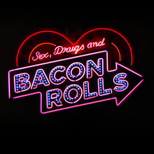 Kwaliteit promotionele stop rock & roll rolling stones neon sign
