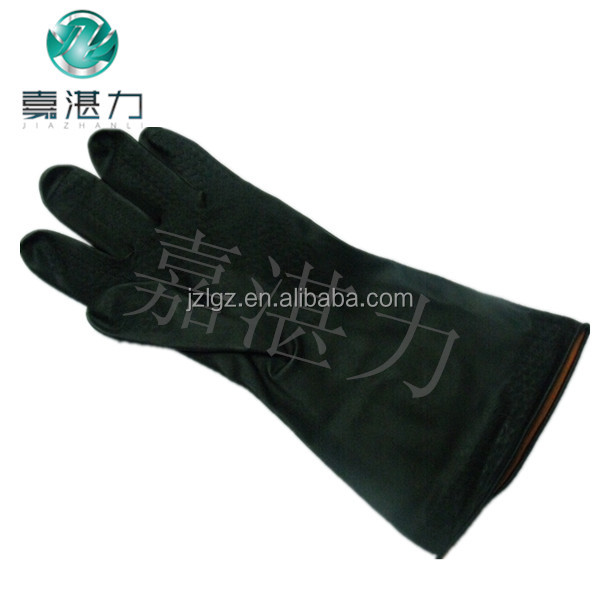 Hot Sale Safety Industry Gloves Resistance Oil Industrial Latex Gloves For Working