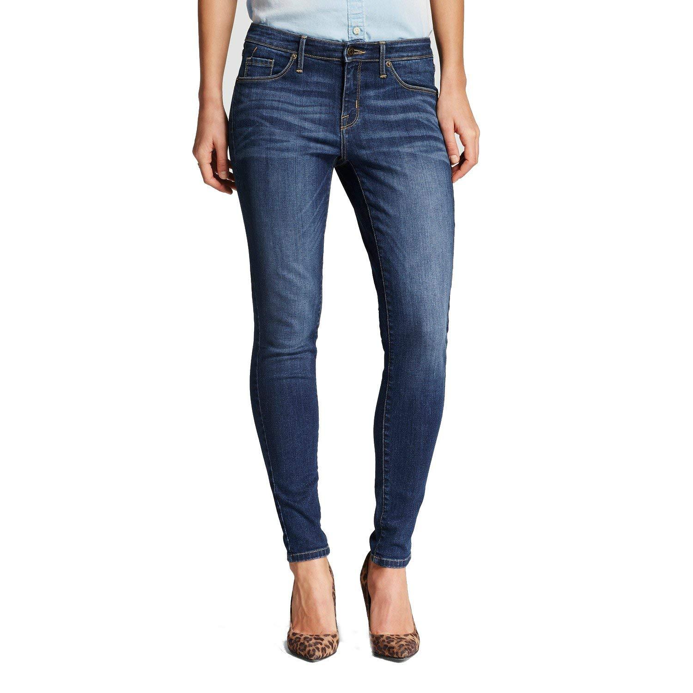 Mossimo Women's High Rise Skinny Jeans Dark Wash