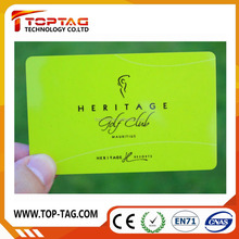 Cr80 credit card size RFID contactless card with Hitag S chip