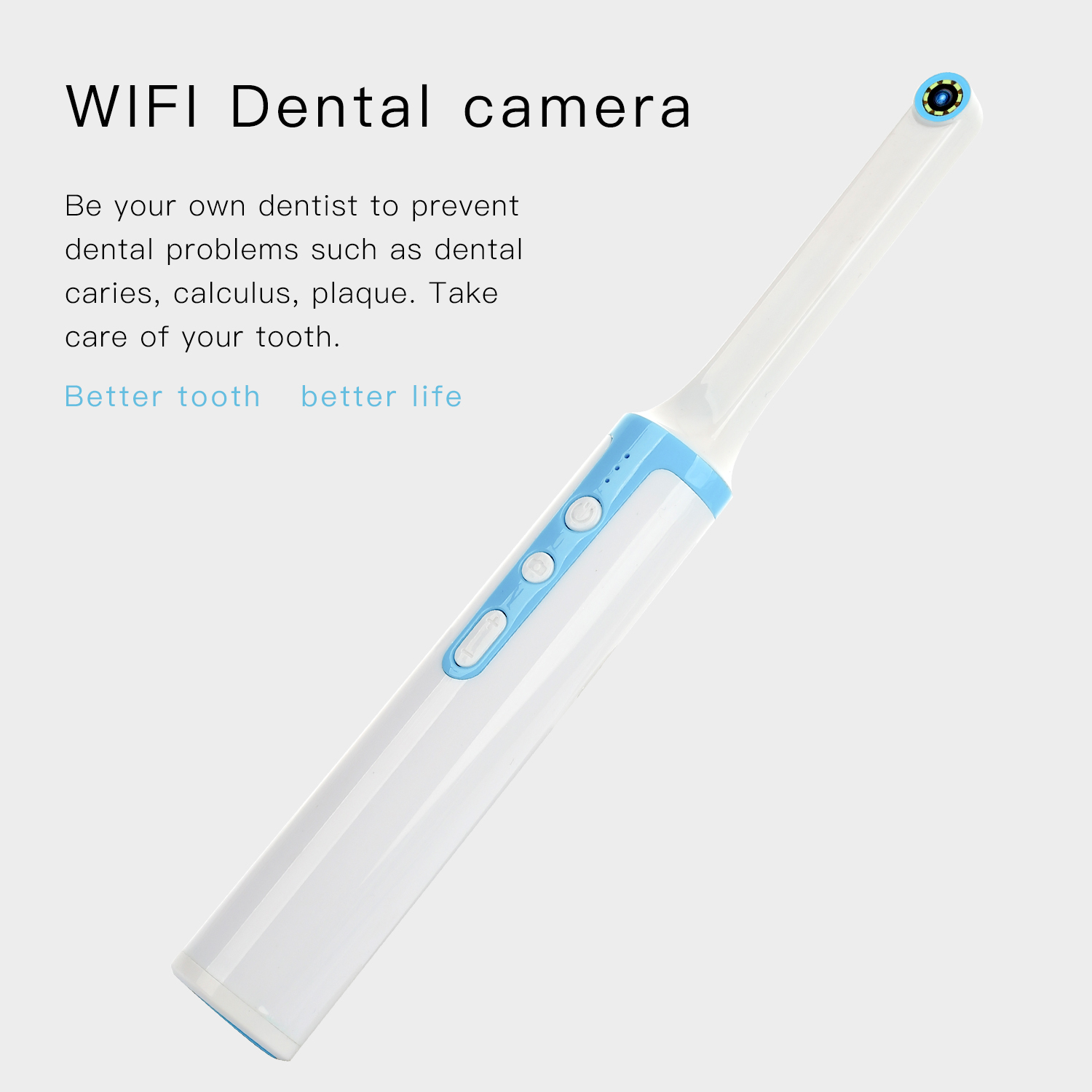 DP10 Pluggable Structure Wireless Oral Dental Wifi Intraoral Camera Endoscope Borescope Led Light USB Camera