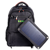 Waterproof Backpack Laptop Bags With 6.5W 1A Solar Panel For Mobile Phone Charging