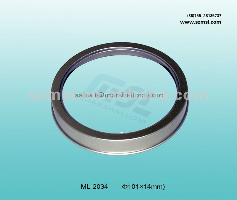 Multi-selective Round Tin lid with window