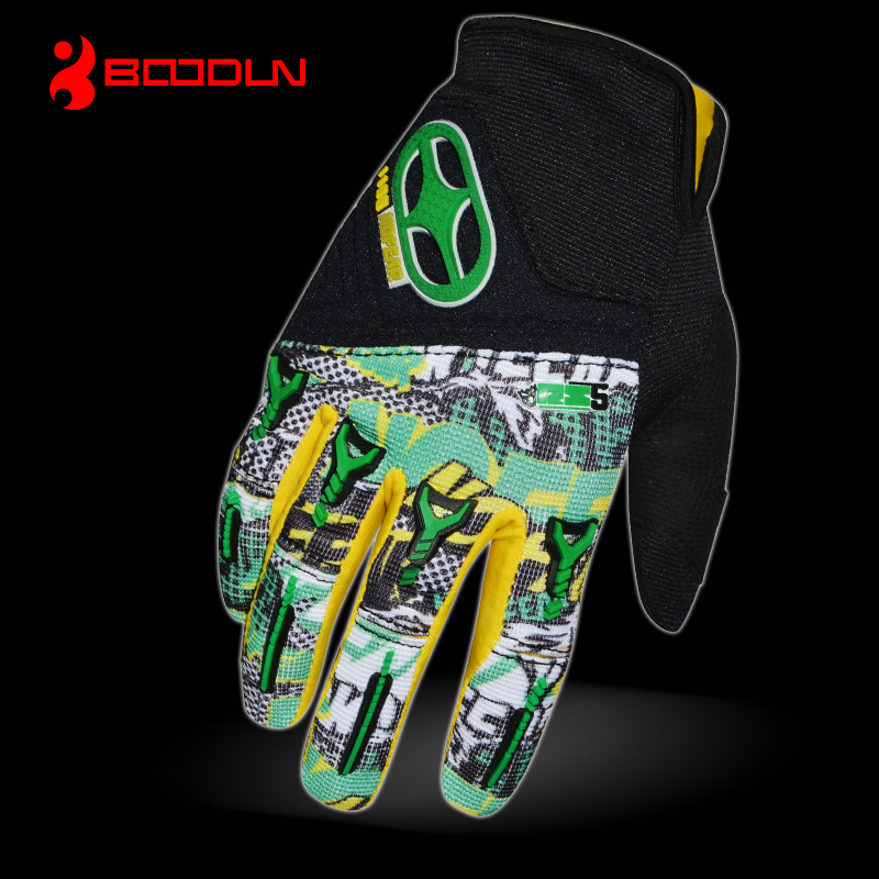 Cruiser vented leather hard Knuckle Motorbike motorcycle summer gloves