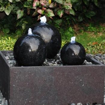 Hedendaags Groothandel Tuin Steen Rolling Spinning Water Bal Fontein - Buy HD-19