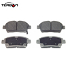 China factory manufacture auto spare parts brake pad d822 04465-0D020 for Toyota