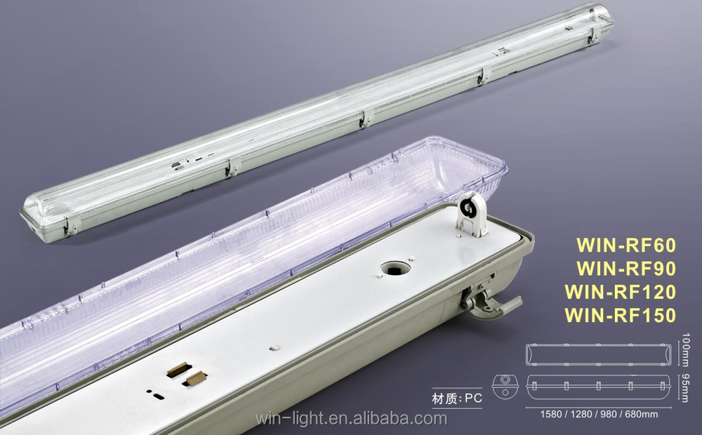Led T5 T8 Tri-proof Light Fixture,Explosion Proof Fluorescent ...