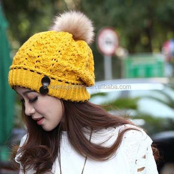 e221737fa42b5 Women's Winter Warm Hats Braided Crochet Hats Ski Beanie Caps - Buy ...