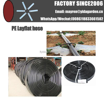 Diameter 75mm Agriculture Irrigation Main Pipe PE soft hose