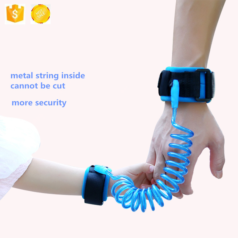 Baby Safety child anti lost wrist link safety leash walking hand belt