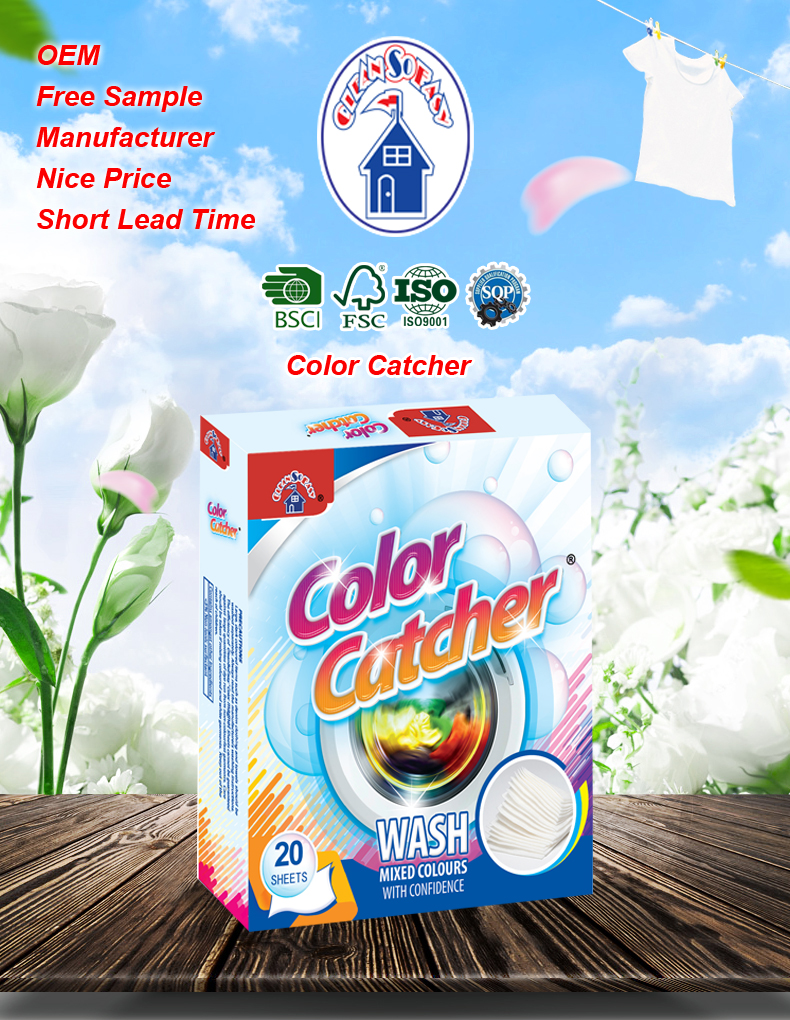Colour catcher sheets - Daily Household Items Clean So Easy Colour Catcher Sheets To Catch Loose Colors