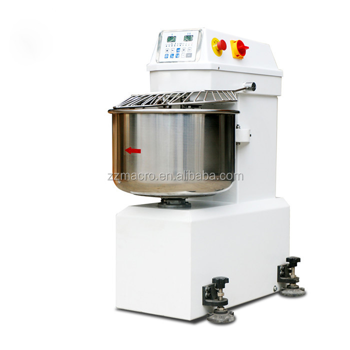 Automatic double speed spirl 50L dough mixer machine/dough maker