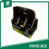6 pack corrugated cardboard wine box with strength quality