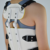 high poly composite material back lumbar support with moderate hardness
